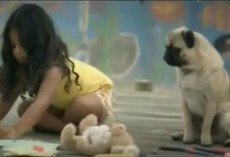 (Video) Commerical Featuring a Pug as a Girl's Guardian Angel Will Touch Everyone's Heart
