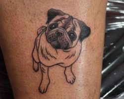 12 Doggie Tattoos That'll Give You a Fresh Perspective on Ink