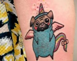 4 Awesome Pug Tattoos We All Want Right Now!