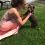 Girl Hoping for a Glamorous Photo with Rambunctious Puppy Gets THIS Instead